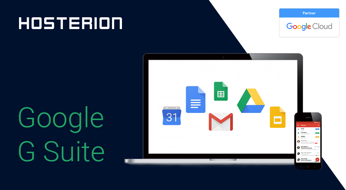 Hosterion - partener Google G Suite