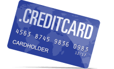 Inregistrare si reinnoire domenii .creditcard
